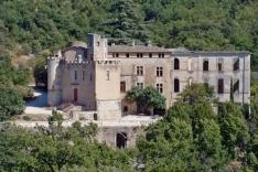 Château de l'environnement de Buoux