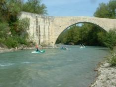 Kayak avec le Camping La Pinède