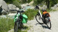 Rencontres en pays Diois à bicyclette électrique