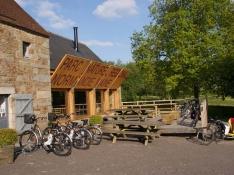 Location de vélos électriques à la Maison du Parc Normandie Maine
