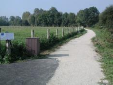 Chemin de randonnée le long de la Sélune